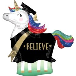 "Balon foliowy ""Grad Unicorn"" 83 x 81cm"
