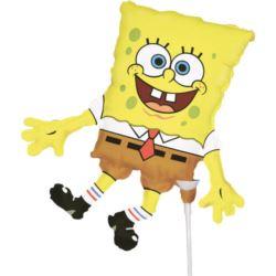 Balon foliowy MiniShape SpongeBob na patyczek