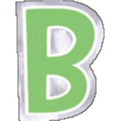 48 Naklejki Litera B