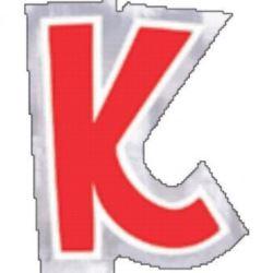 48 Naklejki Litera K