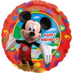 """balony, balony na hel, dekoracje balonowe, balony Łódź, balony z nadrukiem, Balon, foliowy """"Myszka Micke - HB"""" 43cm"""