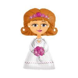 """Balon, foliowy AWK - """"Bride"""""""