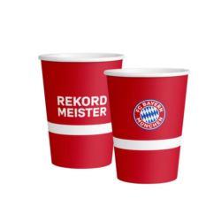 Kubek FC Bayern Monachium papier 250 ml / 8szt.