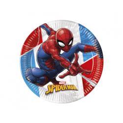 Talerzyki papierowe EKO Super Hero Spiderman