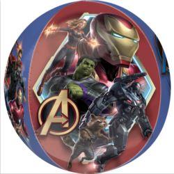 balony, balony na hel, dekoracje balonowe, balony Łódź, balony z nadrukiem, Orbz Avengers Endgame 38cm x 40cm