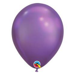 "Balon QL 11"", chrom fioletowy / 10 szt."