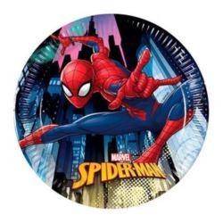 """Talerzyki papierowe """"Spiderman Team Up"""" 20 cm"""