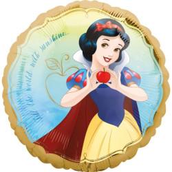 balony, balony na hel, dekoracje balonowe, balony Łódź, balony z nadrukiem, Balon foliowy standard 43cm Snow White Once Upon