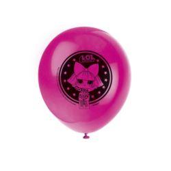 Zestaw balonów UQ 12 cali LOL SURPRISE, 8 szt.