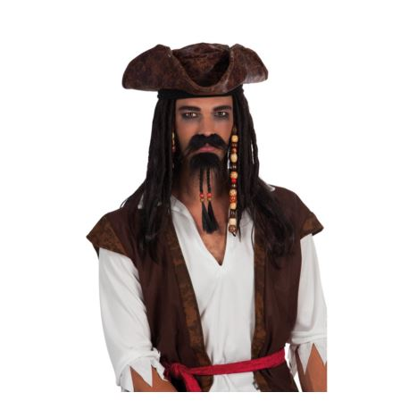 balony, balony na hel, dekoracje balonowe, balony Łódź, balony z nadrukiem Zestaw wąsy i broda Pirata