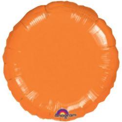 """Balon, foliowy metalizowany 18"""" 45 cm pomarańcz"""