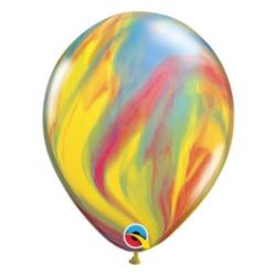 "Balon QL 11"", pastel agat wielokolorowy / 5 szt."
