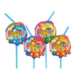 Slomki z dekoracją Balon Party