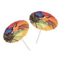 Parasolki do drinków,koktaili hawajskie - plaża