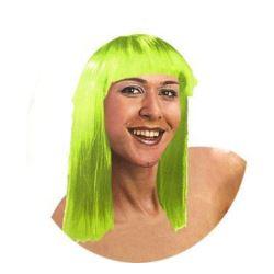 "Peruka ""Prosta"", zielona"
