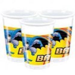 Kubeczki plastikowe - Batman, 8 szt.