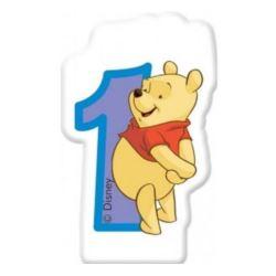 """Świeczka Disney """"Winne Alphabet 1"""""""