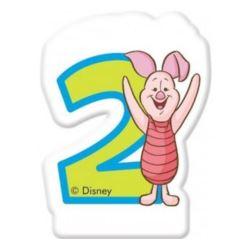 """Świeczka Disney """"Winne Alphabet 2"""""""