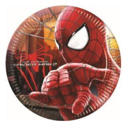 """Talerzyki papierowe """"Amazing Spiderman"""" 20 cm,"""
