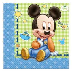 """Serwetki """"Mickey Baby 33x33 cm, 20 szt."""
