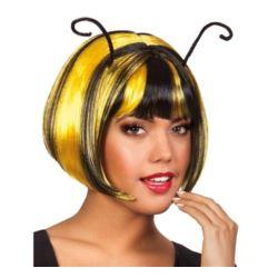 """balony, balony na hel, dekoracje balonowe, balony Łódź, balony z nadrukiem, Peruka """"Honeybee""""- pszczółka"""