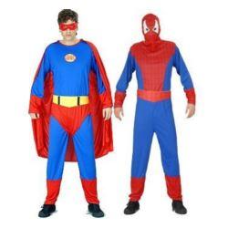 """Strój dla dorosłych """"Człowiek pająk i super""""(2w1)"""