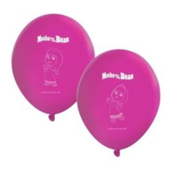 "Zestaw 8 balonów ""Masha And The Bear"""