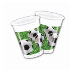 "Kubeczki plastikowe ""Kokliko Football Party"" 200ml"