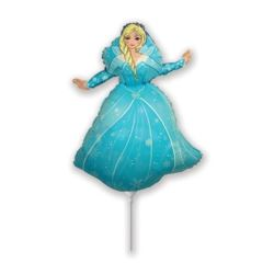 """balony, balony na hel, dekoracje balonowe, balony Łódź, balony z nadrukiem, Balon foliowy 14"""" FX - """"Kraina lodu: Princess"""""""
