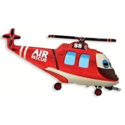 """Balon foliowy 14"""" FX - """"Helikopter Ratunkowy"""""""