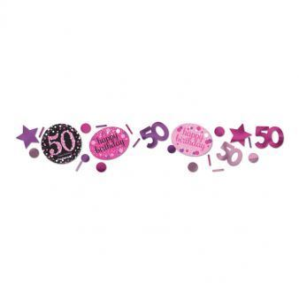 """Konfetti """"50"""" Urodziny Blyszczacy 34 g"""