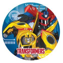 Talerze Transformers 23 cm 8 szt.