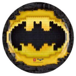 Talerze papierowe Lego Batman 23 cm 8 szt.