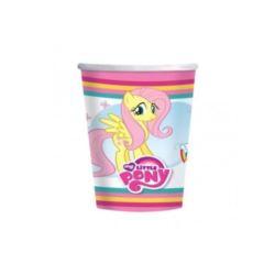 Kubeczki urodzinowe My Little Pony -266 ml- 8 szt.