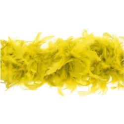 Boa 180 cm złoto żółte