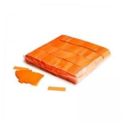 Magic fx confetti UV 55x17mm 1 kg , orange