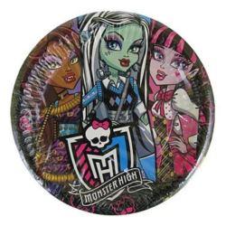 Talerze papierowe średnie Monster High 48 szt.